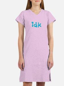 idk Women's Nightshirt