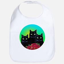 Black Cats Bib