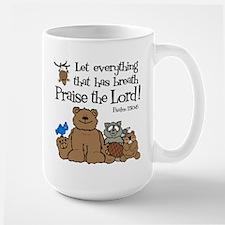 Psalm 150:6 Large Mug