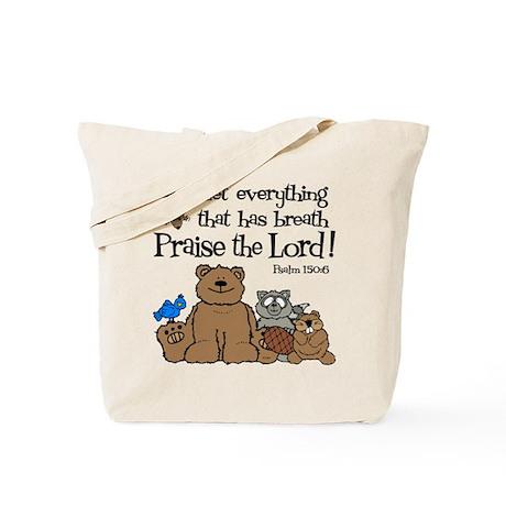 Psalm 150:6 Tote Bag