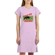 GSD tracking dog Women's Nightshirt
