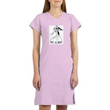 Love to Dance Women's Pink Nightshirt