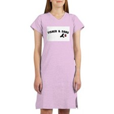 Fisher & Sons Jersey Women's Pink Nightshirt