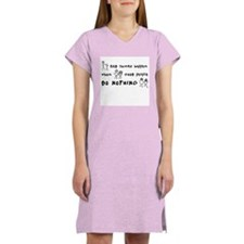 Bad Things Good People Women's Nightshirt