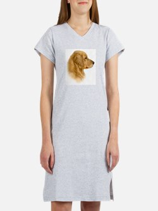 Golden Retriever Portrait Women's Nightshirt