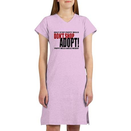 Don't Shop, Adopt! Puppy Mills Women's Light Night