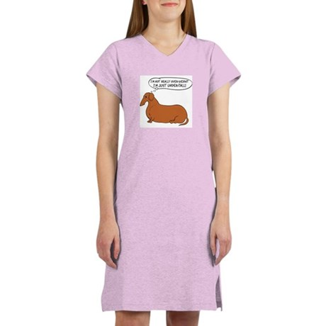 Undertall Dachshund Women's Nightshirt