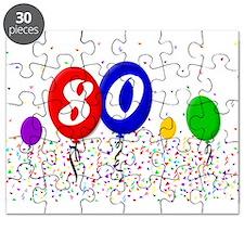 80th Birthday Puzzle