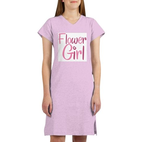 Cool Country Flower Pink Women's Nightshirt
