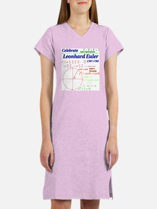 Celebrate Euler Women's Light Color Nightshirt