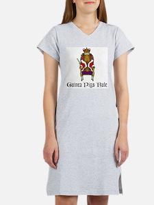 Guinea Pigs Rule Women's Nightshirt