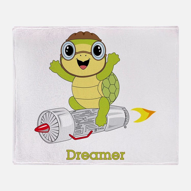 Turtle Dreamer™ Throw Blanket