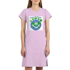 Peas On Earth Women's Nightshirt