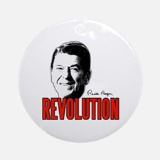 Reagan Revolution Ornament (Round)