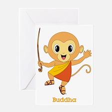 Buddha Monkey™ Greeting Card