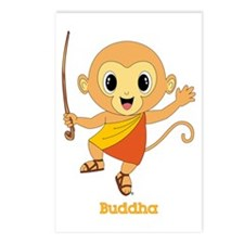 Buddha Monkey™ Postcards (Package of 8)