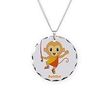 Buddha Monkey™ Necklace Circle Charm