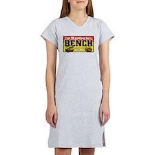 BENCH PRESS Women's Pink Nightshirt