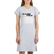 May the Course by with You Women's Nightshirt