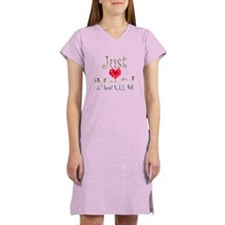 Just Maui'd Hibiscus Heart Women's Nightshirt