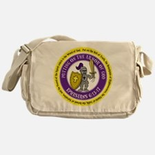 Ephesians Round Messenger Bag