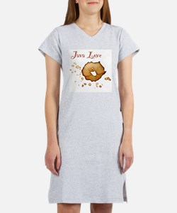Java Love Women's Pink Nightshirt