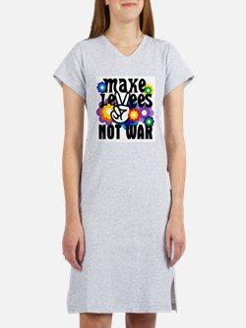 MAKE LEVEES NOT WAR Women's Nightshirt