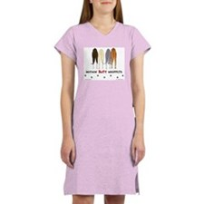 Nothin' Butt Whippets Women's Nightshirt