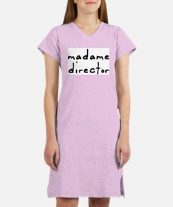 Madame Director Women's Nightshirt