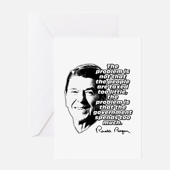 Ronald Reagan Quote Government Spending Too High G