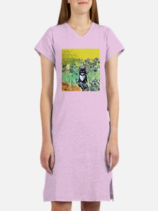 Irises & Cat Women's Nightshirt