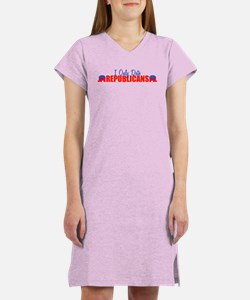 I Only Date Republicans Women's Nightshirt