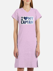 Love My Captain Women's Nightshirt