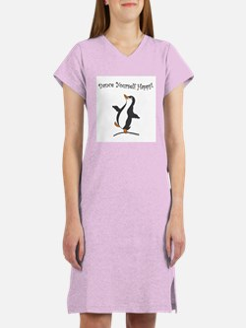 Dancing Penguin Women's Nightshirt