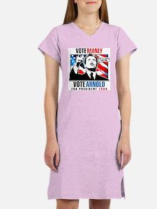 ARNOLD SCHWARZENEGGER Women's Pink Nightshirt