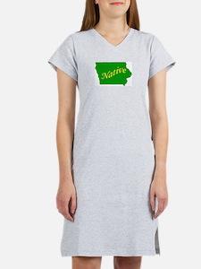 Iowa Native Women's Nightshirt