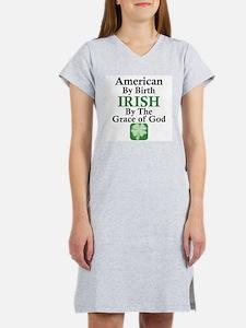 Irish-Grace Of God Women's Nightshirt
