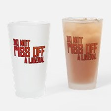 Angry Liberal Drinking Glass
