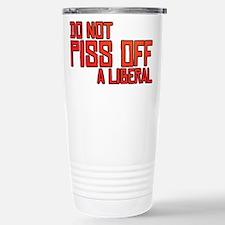 Angry Liberal Stainless Steel Travel Mug