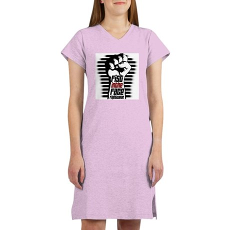 ULTIMATE FIGHTER Women's Pink Nightshirt