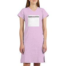 """Nice Matters"" Women's Pink Nightshirt"