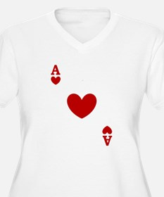 Ace of hearts card player T-Shirt
