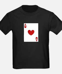 Ace of hearts card player T