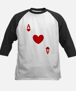 Ace of hearts card player Tee