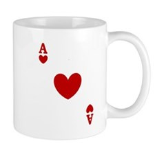 Ace of hearts card player Mug