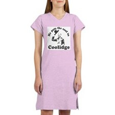 Calvin Coolidge Women's Nightshirt