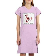 Crawfish Women's Nightshirt