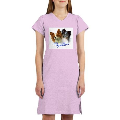 papillon-1 Women's Nightshirt