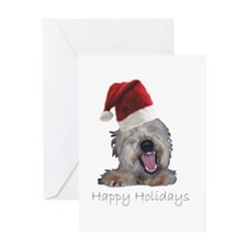 Crazy Dog Greeting Card