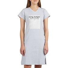 Latin Long Jump Women's Nightshirt